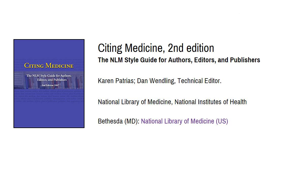 Citing Medicine 2
